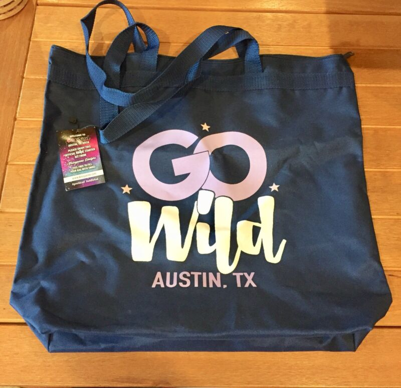 WILD for PLANNERS - GO WILD AUSTIN 2018 Tote Bag - NEW Limited Edition