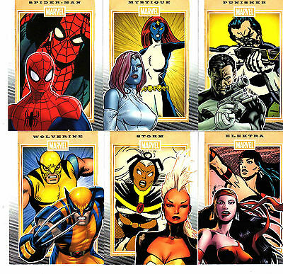 2014 Marvel  75th Anniversary Complete Base 90 card set &  PROMO P1 + wrapper
