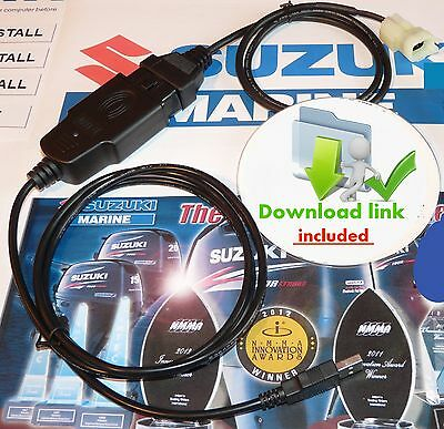 SUZUKI MARINE Outboard Diagnostic CABLE KIT (plug&play) BEST BUY