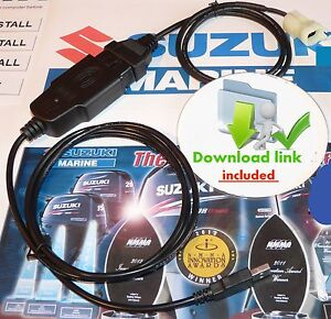 SUZUKI-MARINE-Outboard-Diagnostic-CABLE-KIT-plug-amp-play-BEST-BUY