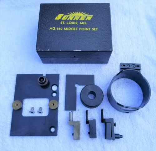 "Sunnen AG-140 Midget  Point Set for AG-300  Gauges (.375"" - .750"")"