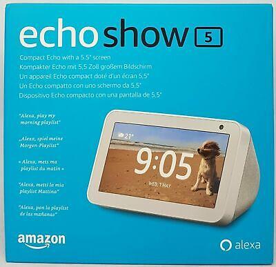 AMAZON ECHO SHOW 5 CON ALEXA BIANCO NUOVO