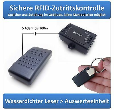 Expert RFID Zutrittskontrolle sabotagesicher, RFID 125khz, IP65 , Sboard+A30A