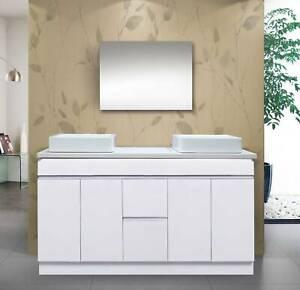 Bathroom Vanity CK-1500mm (WHITE)