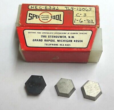 5pc Whpc 532 Hexagon Shape Carbide Inserts Valenite Face Mill Cutter 58 Hex