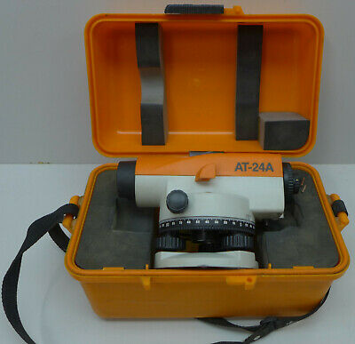 Topcon Top-jr At-24a Auto Level With Case