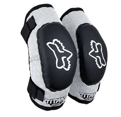 Fox Racing PeeWee Titan Elbow Guards Set/Pair Motocross,ATV,BMX Kids Child Youth