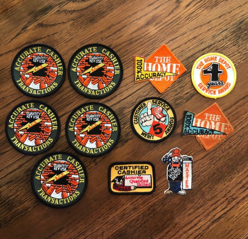 Home Depot Patches Lot