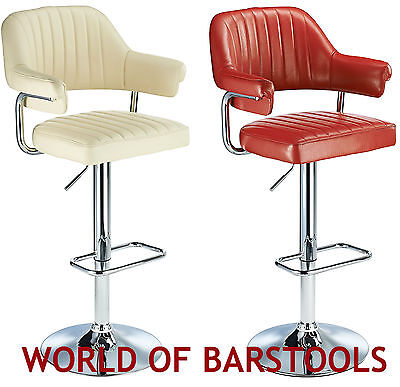 1950s Style Bar Stool - RETRO 1950'S STYLE AVIATOR BAR STOOL IN FIVE COLOURS