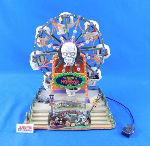 The Wheel of  Horror Ferris Wheel Spooky Town Collection Lemax Tested and Works