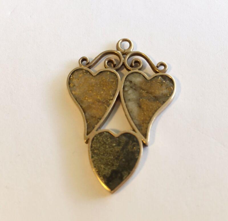 Antique Vintage Victorian 14k Gold Quartz Fob/Drop/Charm/Pendent