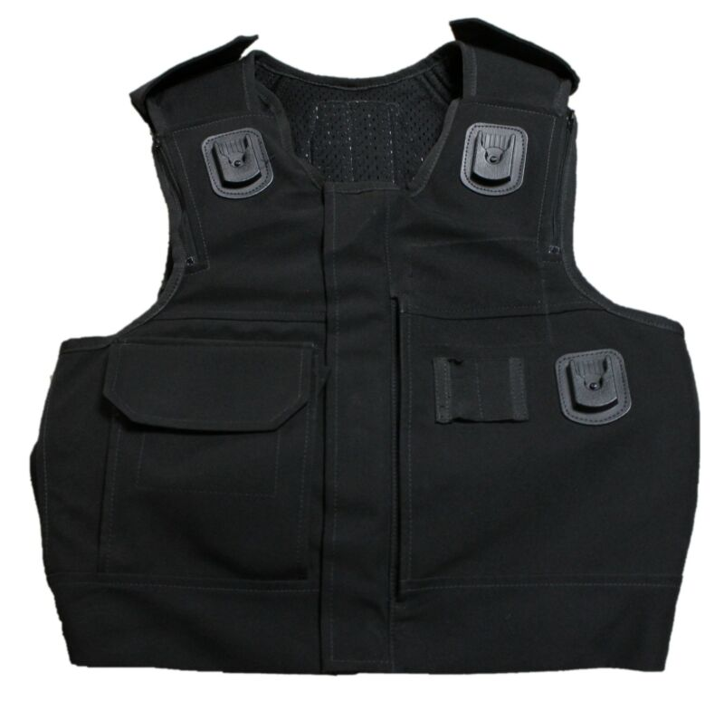 Aegis/Hawk Body Armour Cover Tactical Vest Security AHC01A **COVER ONLY**