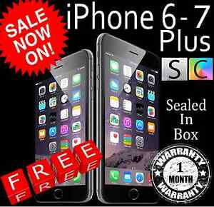 iPhone 5- 7 Plus 6 6s Perfect Condition Unopened Apple Sealed Box Greensborough Banyule Area Preview