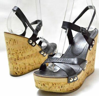 MIU MIU by PRADA Genuine Leather Women's Platforms EUR 37