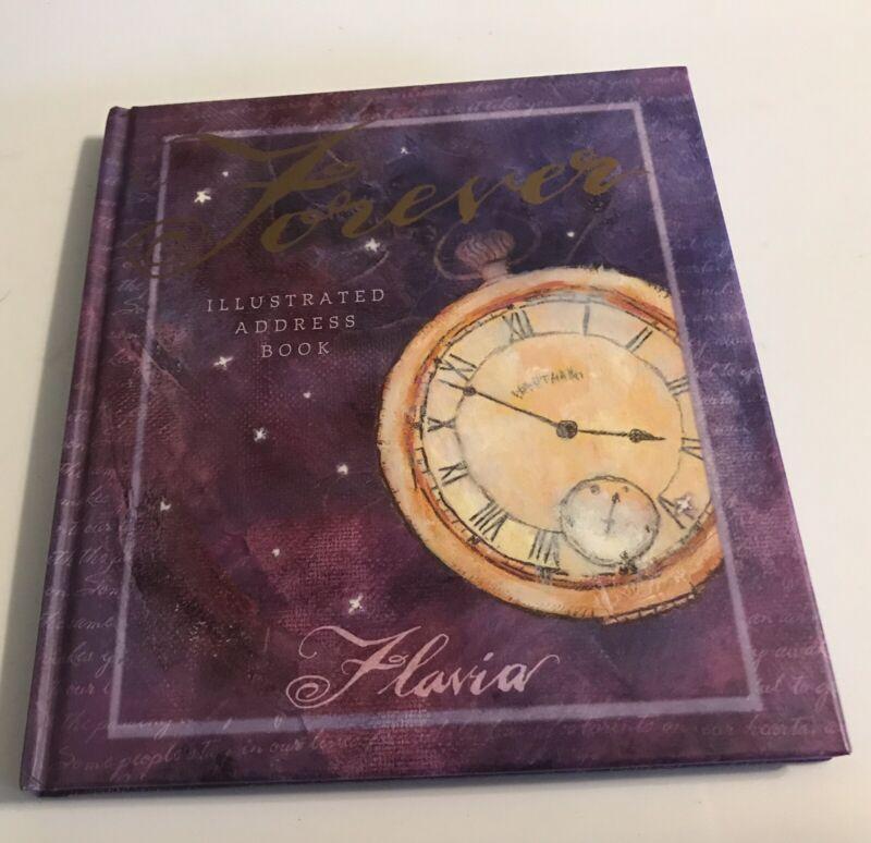 Illustrated Address Book By FLavia Forever Hardback Address Keeper