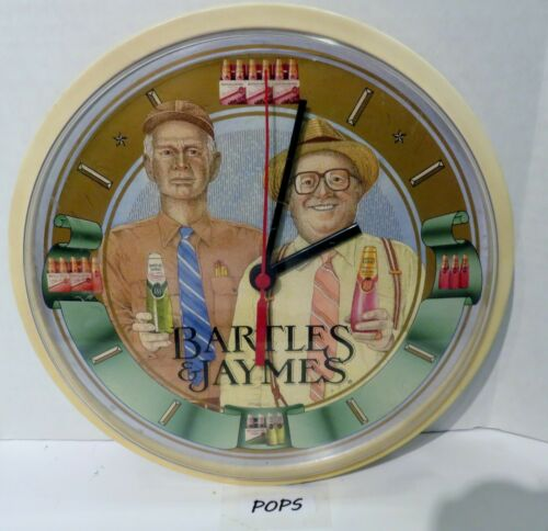 VINTAGE BARTLES AND JAMES CLOCK ! VERY VERY RARE STILL WORKS