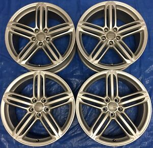 """2014 Audi A4 / S4 OEM 19"""" Wheels *Amazing Condition*"""