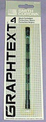 Vintage Smith Corona Graphtext 90 Black Ink Cartridges G1124