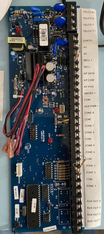 Ge Interlogix Caddx Nx8 V2 Board Only Used