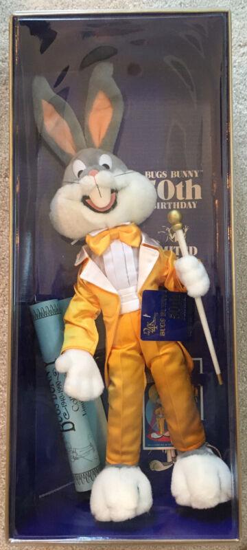 Bugs Bunny 50th Birthday Limited Edition Doll - New - NRFB