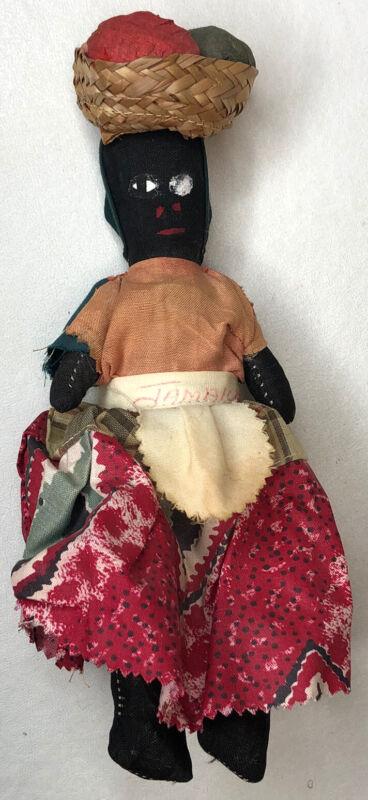"Stuffed 9"" Jamaican Rag Doll"