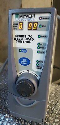 Unitek Miyachi Series 70 Weld Head Control Rbd7.2