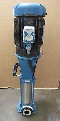Grundfos Cr32-6-2u-g-a-v-euuv Vertical Multistage Centrifugal Pump 25hp 3 Ph