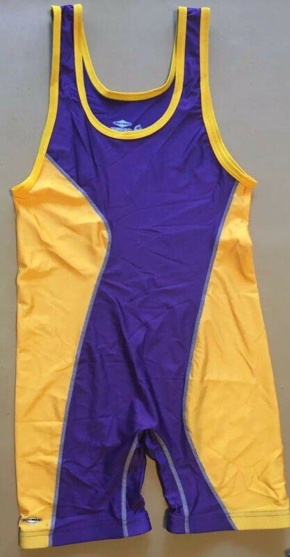 Matman purple/gold size medium