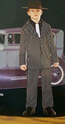 Gangster Costume Boys Suit Pants Jacket Dickie 2238