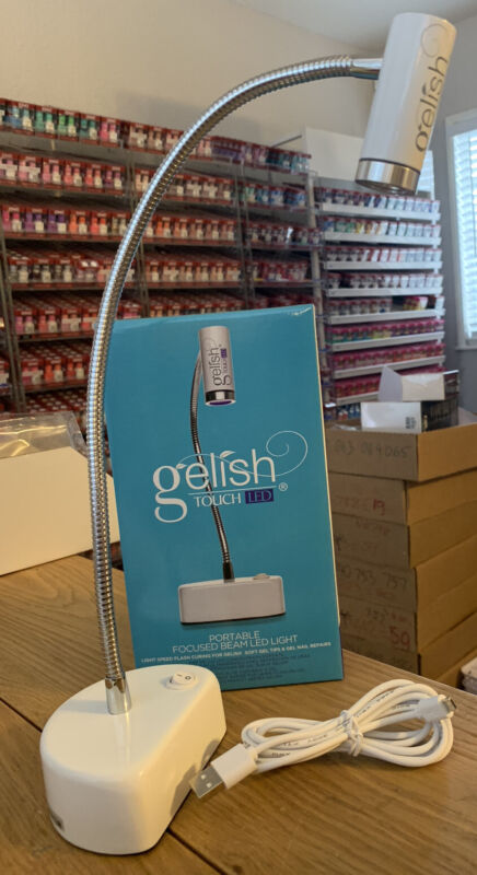 New Harmony Gelish Touch Led Light - Use With Soft Gel Tips