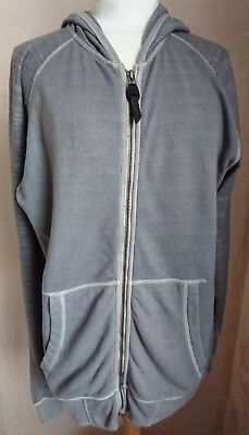 Edun taupe granite coloured cotton man's hoodie uk size S , used for sale  Shipping to South Africa