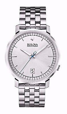 Bulova Men's 96B216 Accutron II Quartz Silver Dial Stainless Steel Dress Watch