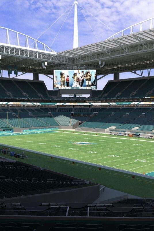 12/5 Miami Dolphins vs New York Giants Club Level Tickets