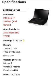 Dell Inspiron P75f Specs
