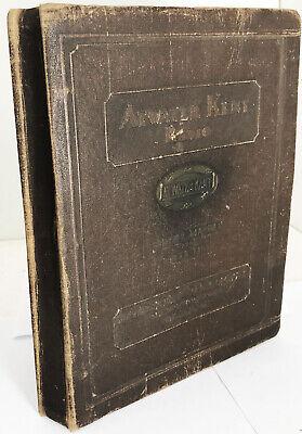 Vintage 1931 Atwater Kent Radio Service Manual Parts List