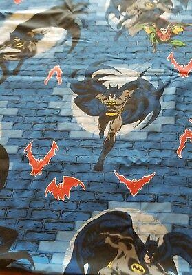 Vintage Dan River Double/Full Size Cotton Blend Batman Sheet