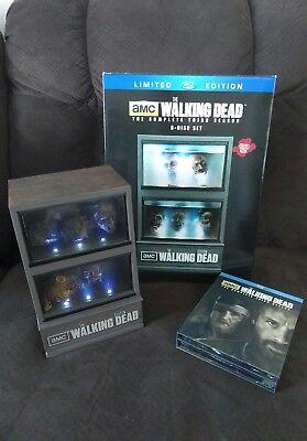 Walking Dead:Season 3 (Blu-ray Disc,4 Disc Set, Limited Edition Zombie Fishtank)