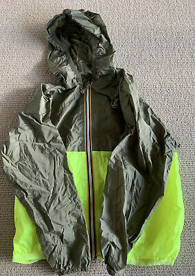 K Way kids rain jacket / wind breaker size 10