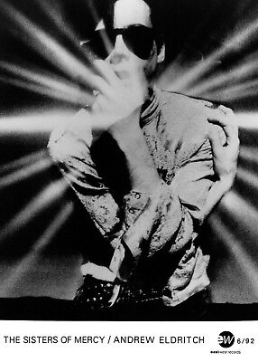 The Sisters Of Mercy - Promo Press Photo 1992 - Andrew Eldritch - Gothic