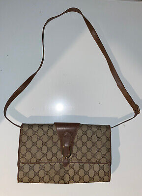 Authentic Vintage 80's Gucci Accessory Collection Shoulder Bag Small