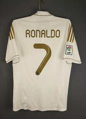 d6aea82f0 4.4 5 Ronaldo Real Madrid jersey medium 2011 2012 shirt V13659 Adidas ig93