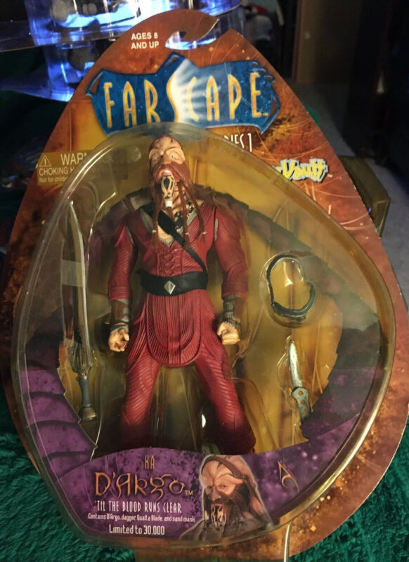 "Farscape Ka Dargo Figure Series 1 Toy Vault. 7 1/2"""