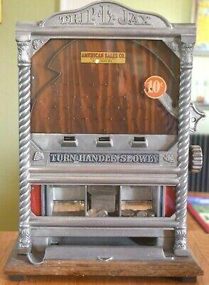 TRIP L JAX Coin Op Machine RARE 10 Cent Coin Trade Stimulator