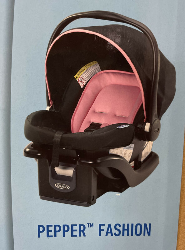 Graco SnugRide 35 Lite Infant Car Seat, Pepper 4-35lb