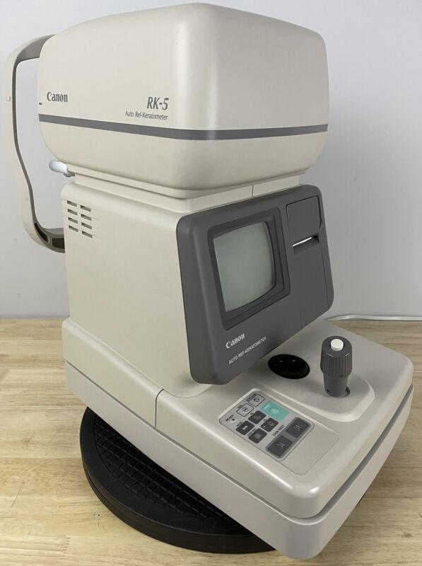 Canon RK-5 Autorefractor/Keratometer