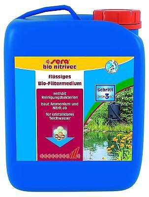 (EUR 14,76 / L) sera pond bio nitrivec  2,5 L