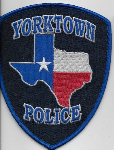 Yorktown Police State Texas TX New NEAT!