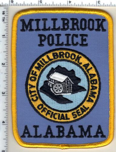 Millbrook Police (Alabama) Shoulder Patch - New from 1989