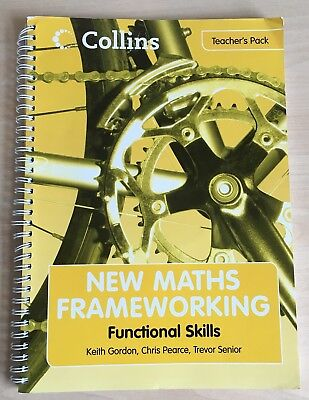 """""""New Maths Frameworking"""" Functional Skills Teachers Pack with CD Rom Used"""