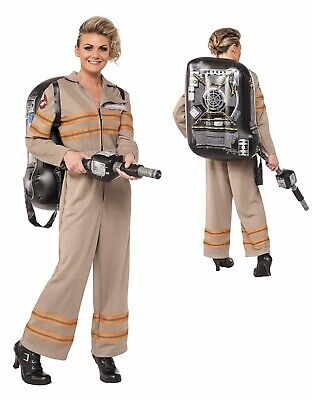 Ghostbusters Costume Womens (Womens Deluxe Ghostbusters Jumpsuit)